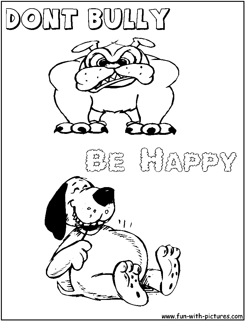 800x1050 No Bullying Cartoon Coloring Pages Gallery Coloring Sheets