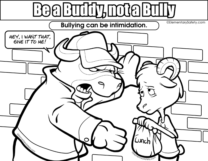 720x556 Anti Bullying Coloring Pages