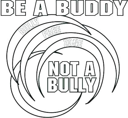 425x389 Bullying Coloring Pages Printable
