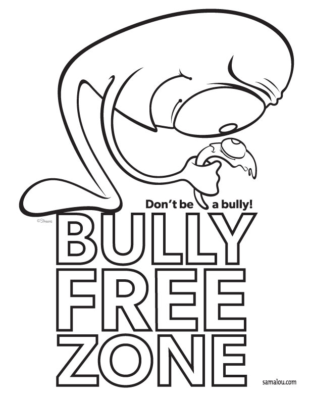 612x792 Beautiful Anti Bullying Coloring Pages