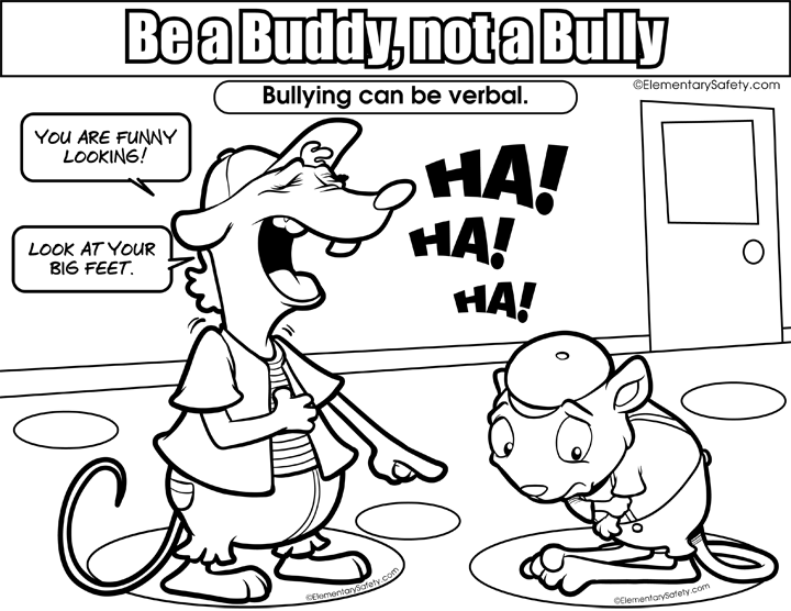 720x556 Bullying Coloring Pages