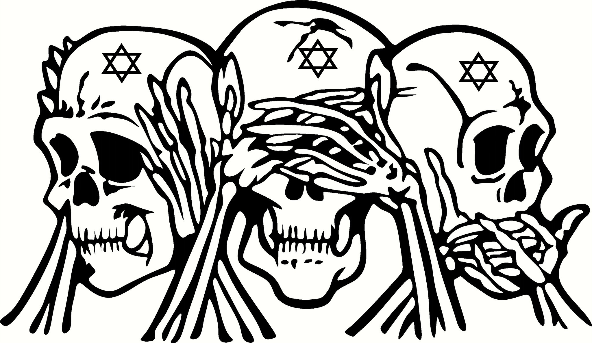 2048x1187 Skulls Coloring Lovers