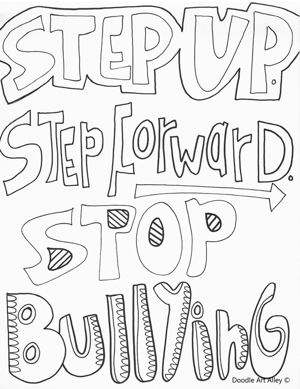 618x800 Bullying Colouring Pages No Bullying Coloring Pages Classroom