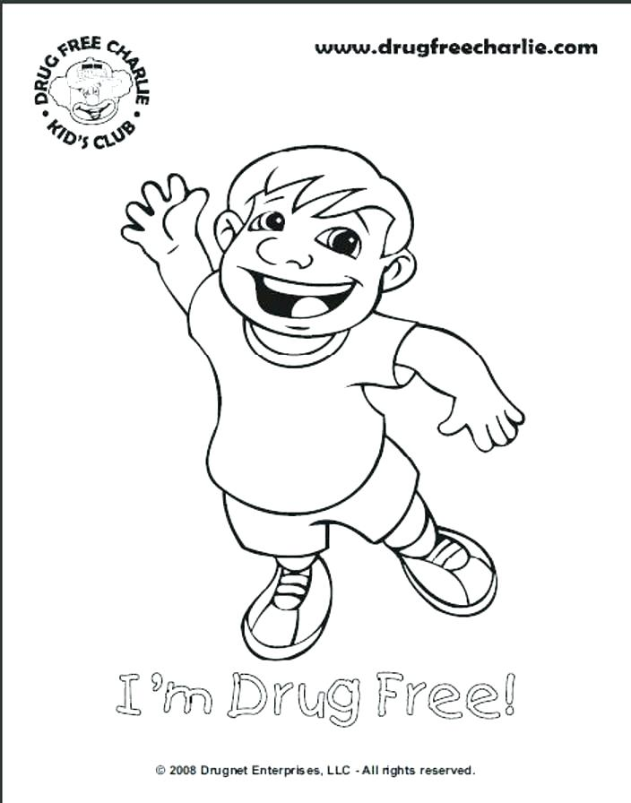 704x896 Drug Free Coloring Sheets Drug Free Coloring Pages For Kids