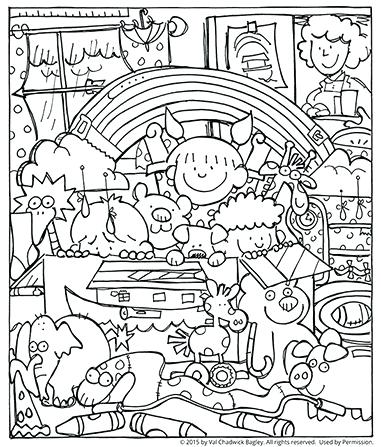 381x447 Good Noahs Ark Coloring Page Or Ark Printable Coloring Pages