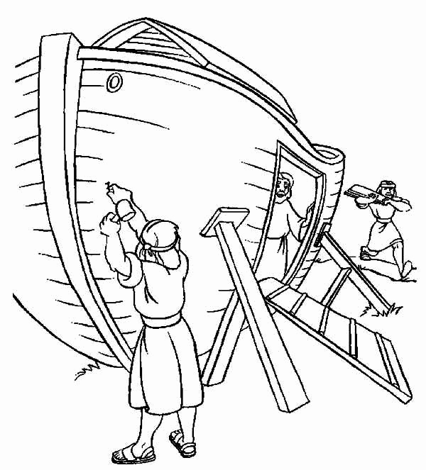 600x663 Noah's Ark Printable Coloring Pages Coloring Pages For Girls