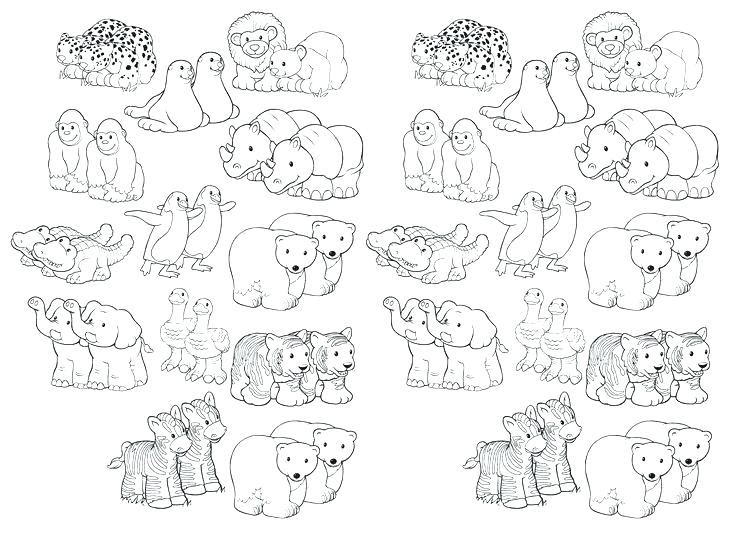 736x539 Noah Coloring Page Printable Coloring Pages Animal Pairs Page Best