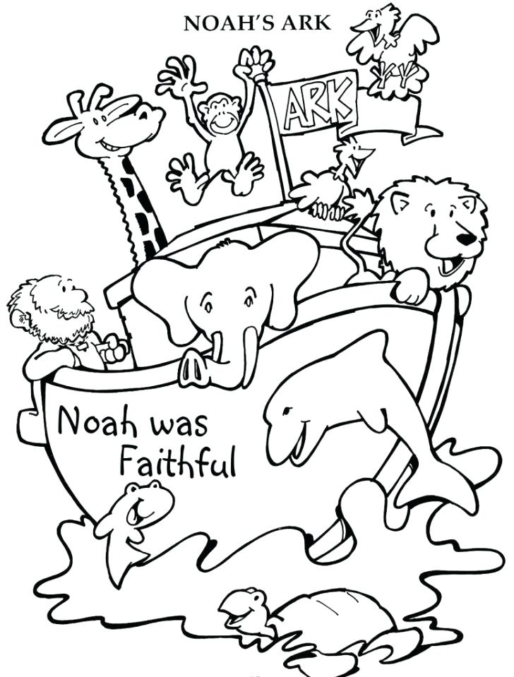 728x959 Noahs Ark Free Printable Coloring Pages Page Adult S Building New