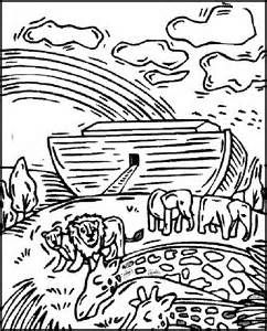 242x300 Free Printable Bible Story Coloring Pages Noah's Ark Creation