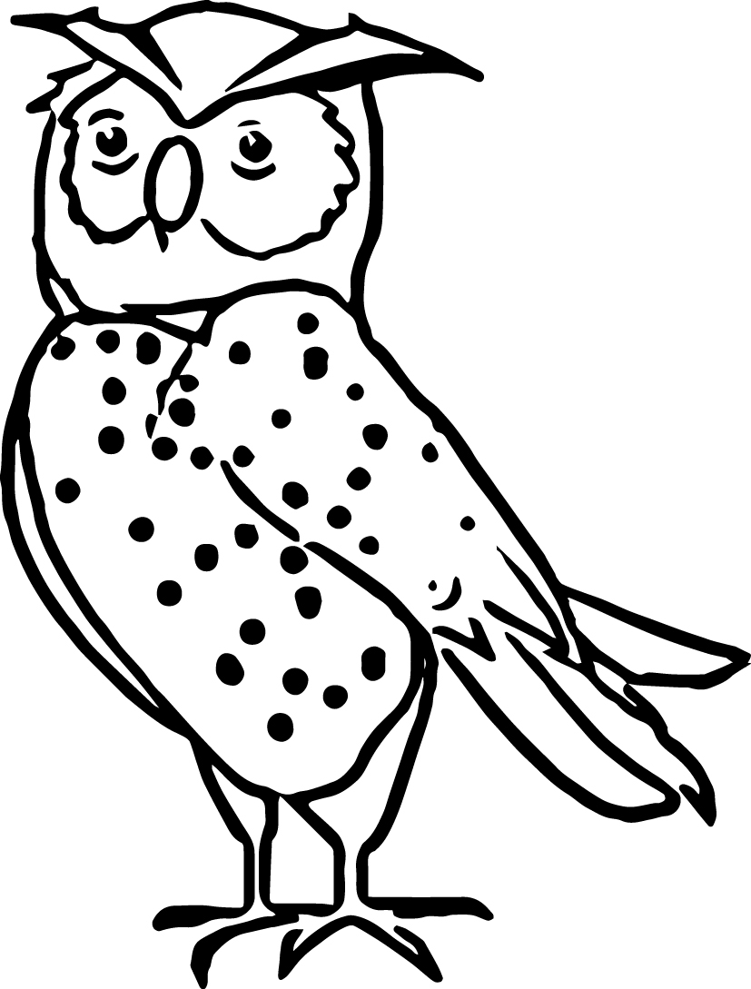827x1089 Nocturnal Animal Coloring Pages Printable Coloring For Kids