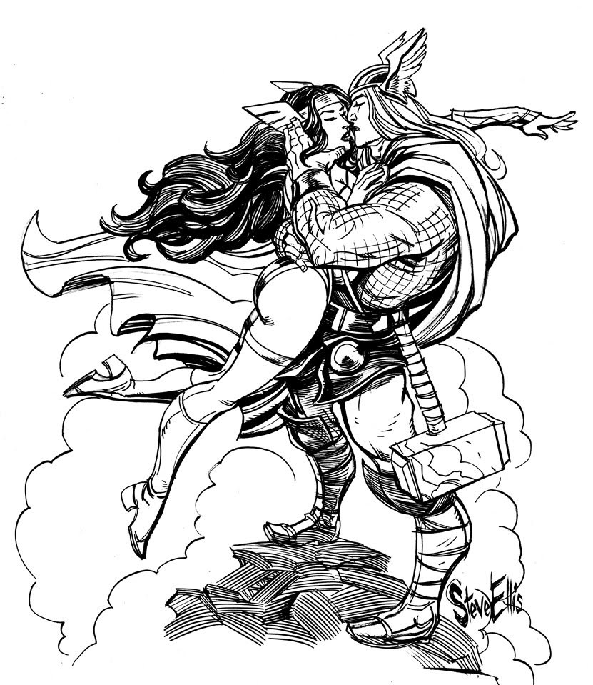 831x959 Drawing Norse Mythology Coloring Pages