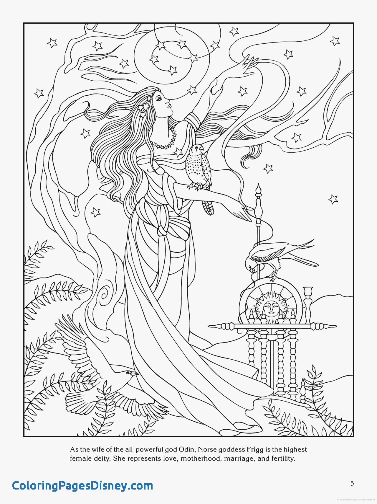 1280x1707 Greek Mythology Coloring Pages Fresh Goddess Coloring Page Frigg