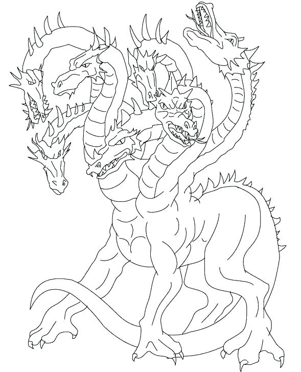 589x728 Mythology Coloring Pages Coloring Pages Mythological Creature