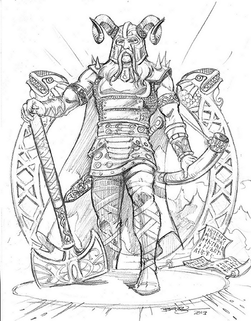 500x639 Norse Mythology