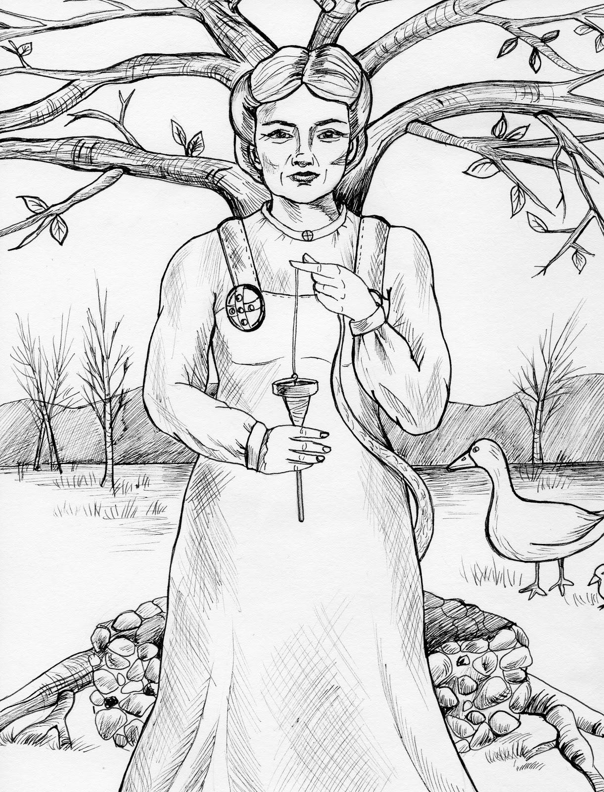 1221x1600 Norse Mythology
