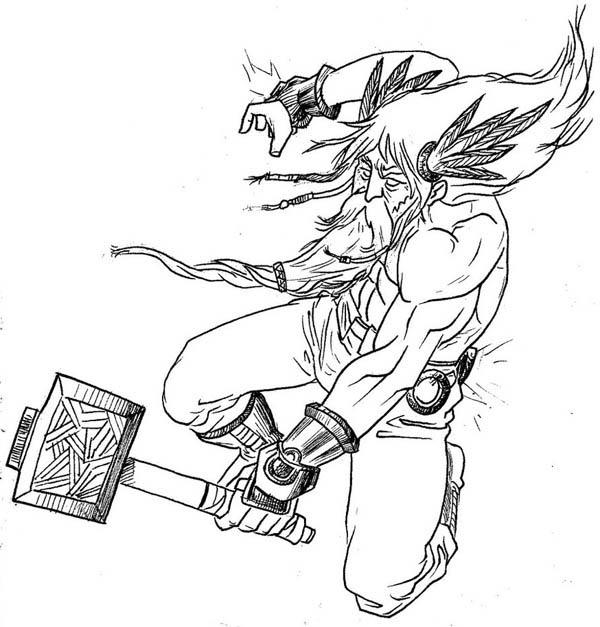 600x627 Norse Mythology