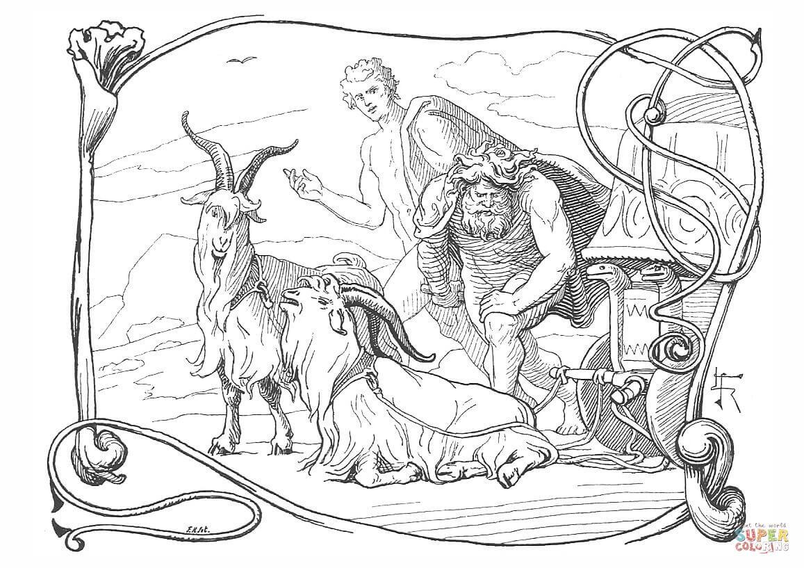 1157x817 Awesome Free Printable Norse Mythology Fantasy And Mythology