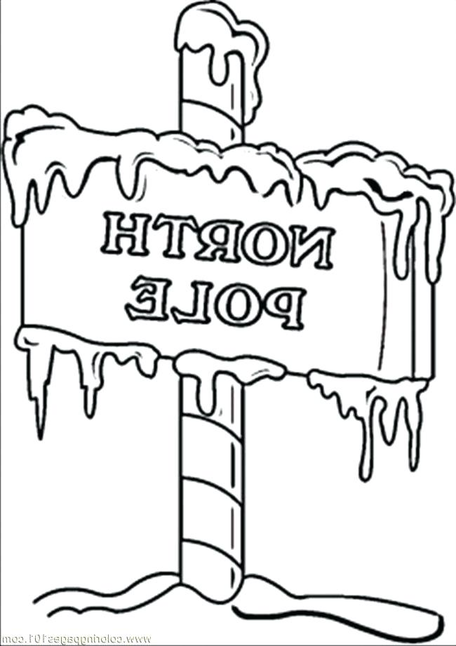 650x921 North Pole Coloring Pages Coloring Pages North Pole Sign Countries