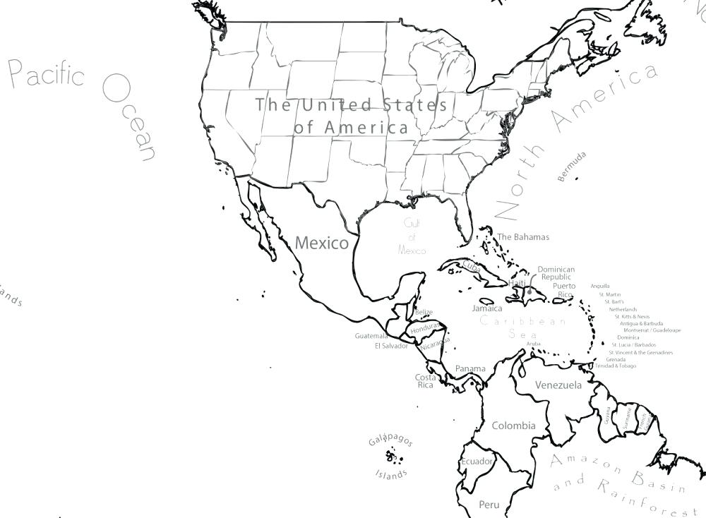 1000x734 Maps Blank Maps Blank Maps Free Printable Map West Printable