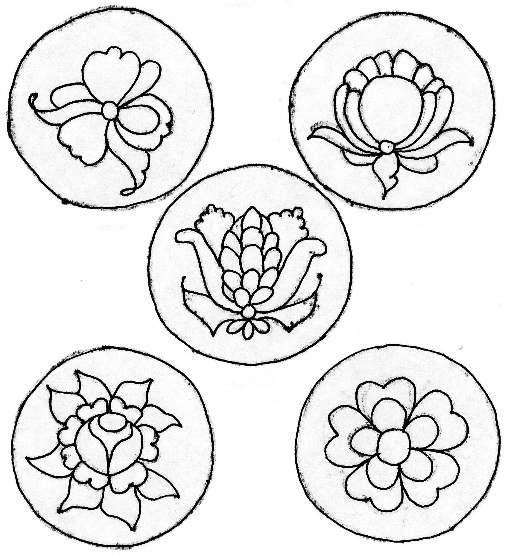 1698x1859 Rosmaling Coloring Pages Patterns, Embroidery And Embroidery Motifs