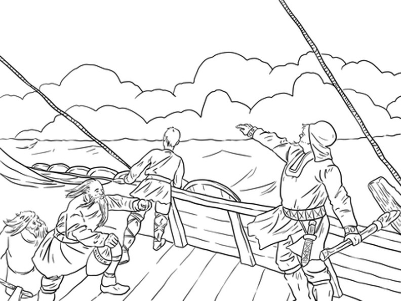 792x594 Viking Coloring Pages Free Viking Coloring Pages Printer Ready