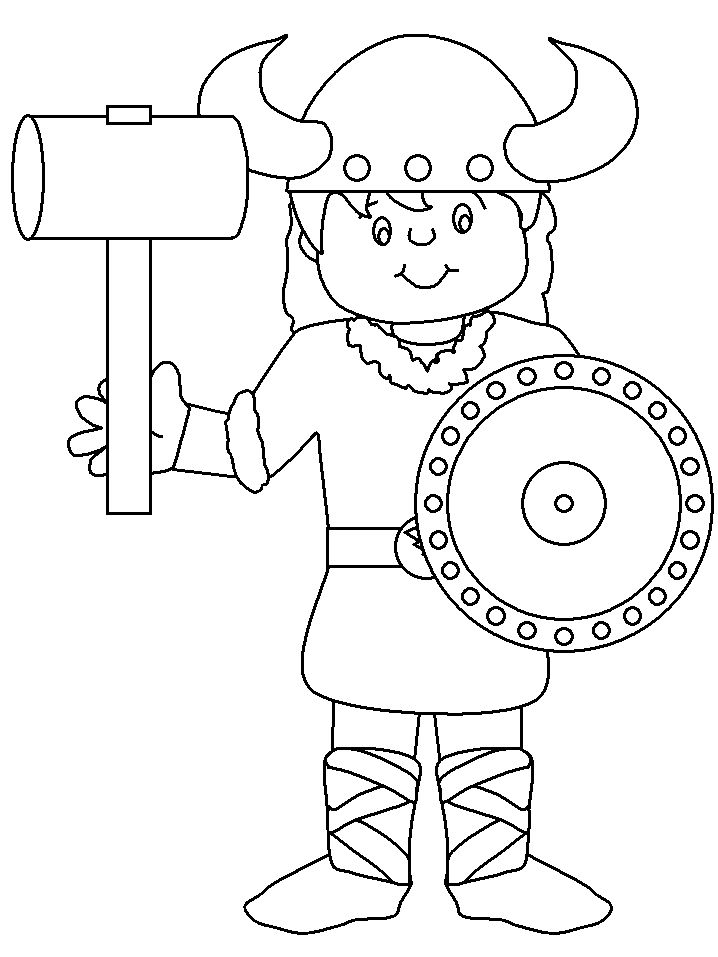 Norway Flag Coloring Pages