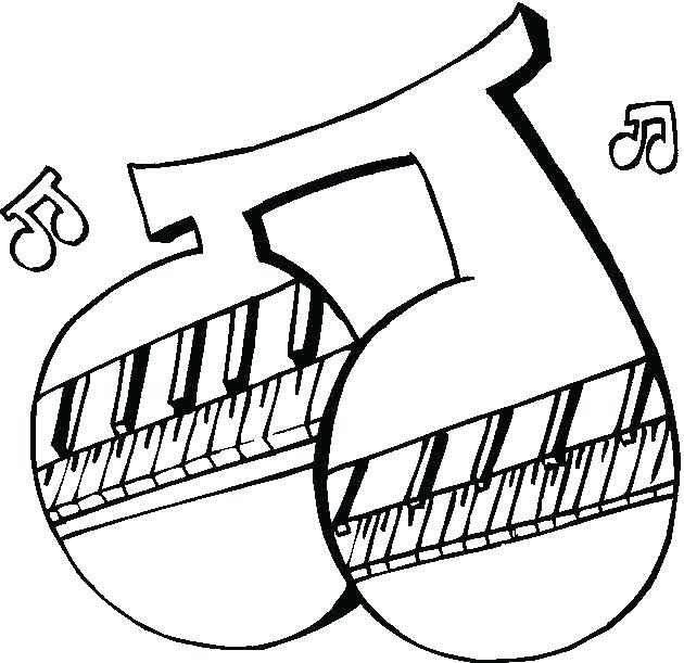 630x611 Music Notes Coloring Page Music Notes Coloring Musical Notes