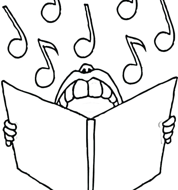 750x800 Music Notes Coloring Pages Music Notes Coloring Pages Royalty Free