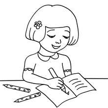220x220 Classroom Scenes Coloring Pages