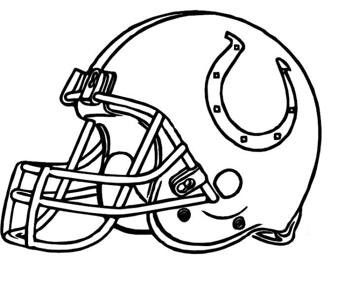 Notre Dame Football Coloring Pages