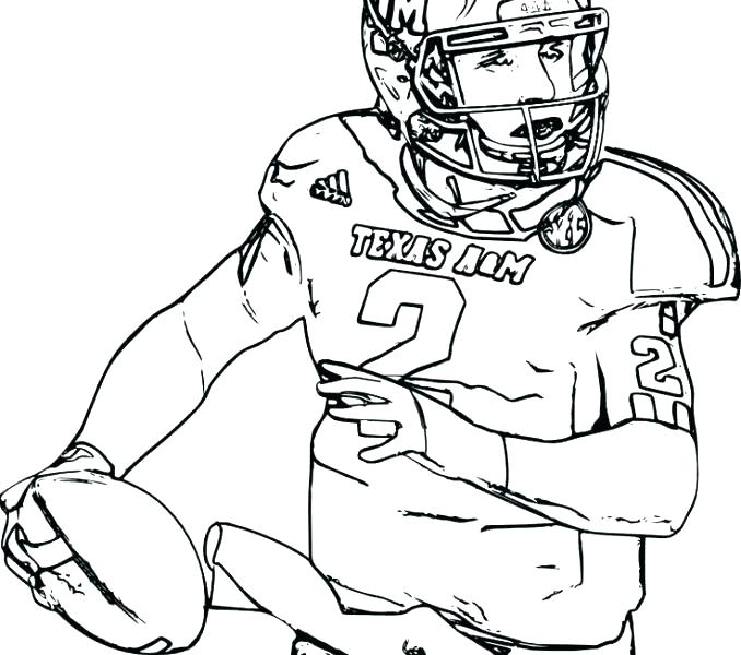 678x600 Ncaa Football Logo Coloring Pages Cheer T