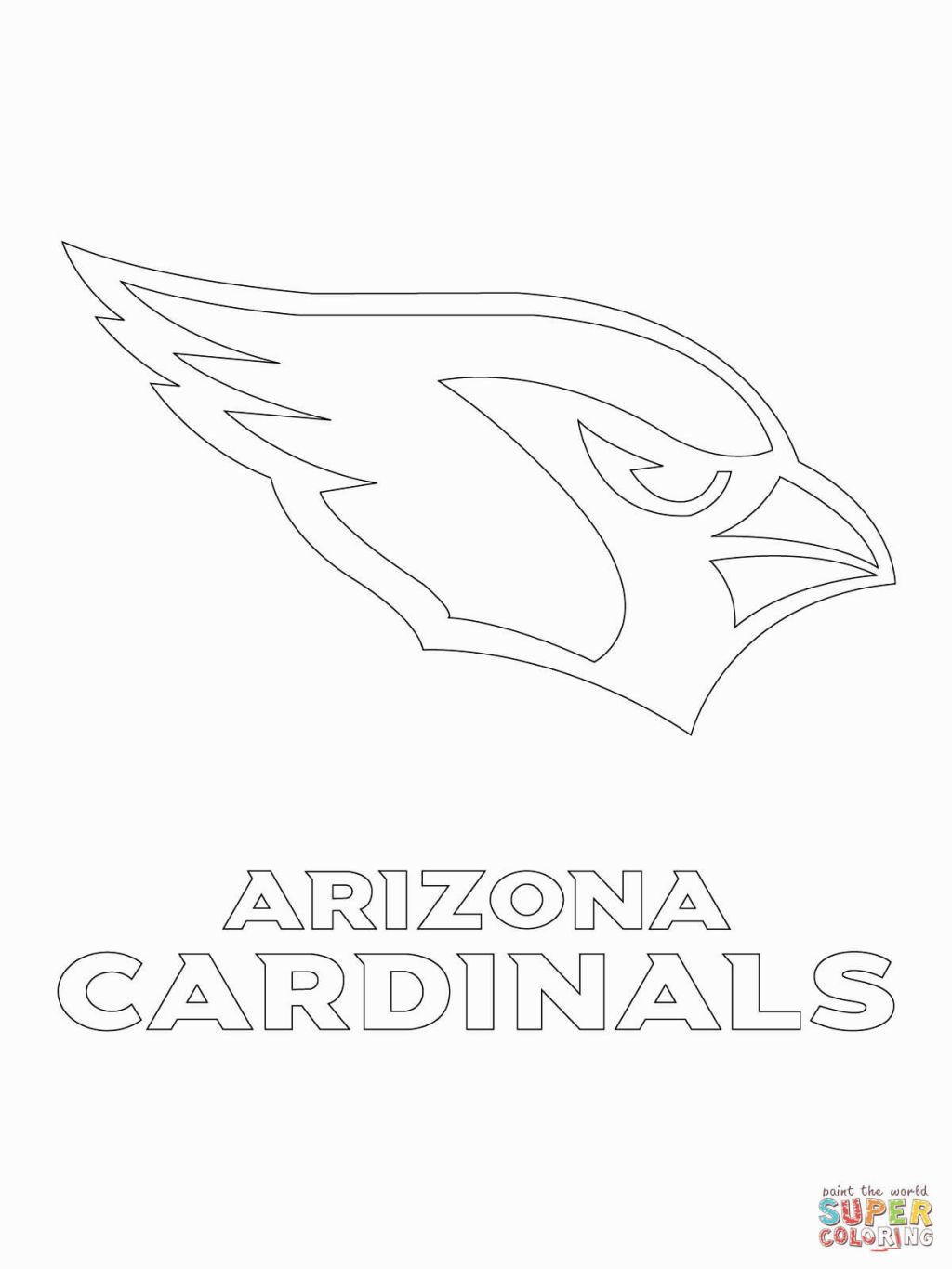 1024x1365 Nfl Logos Coloring Pages Coloring Pages Stenciling