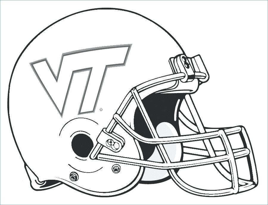 900x690 Printable College Football Coloring Pages