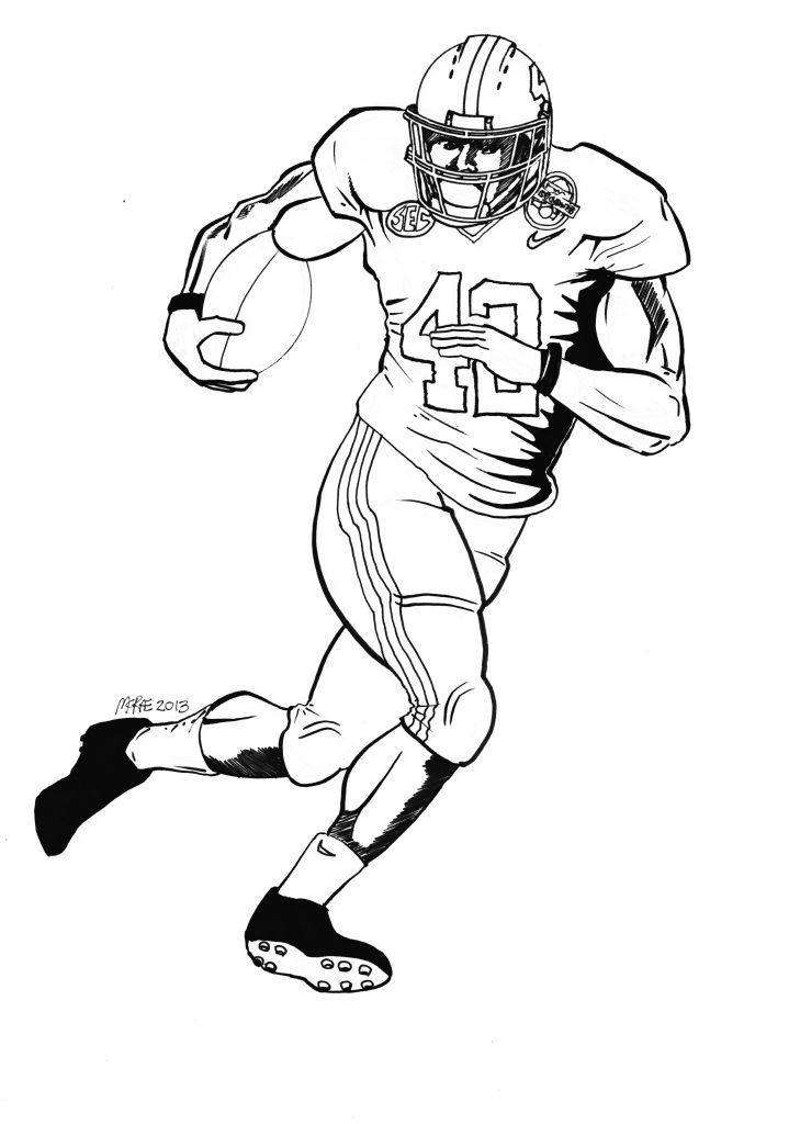 719x1024 University Of Alabama Football Coloring Pages Alabama Drawing