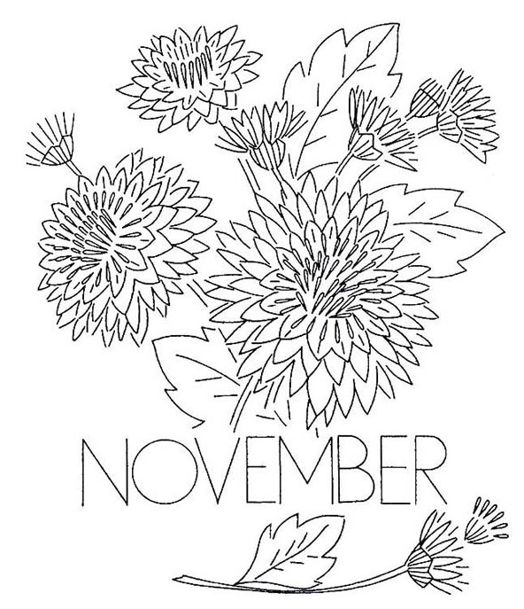 592x687 November Coloring Page Coloring Book