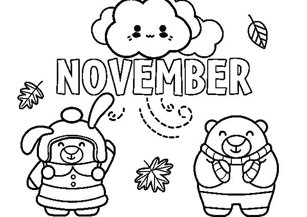 600x425 November Coloring Pages Coloring Page Coloring Page X Coloring