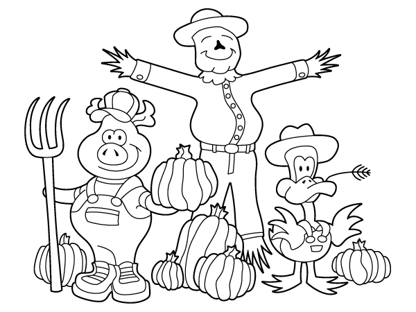 600x450 Best November Coloring Pages Calendars Free Printable
