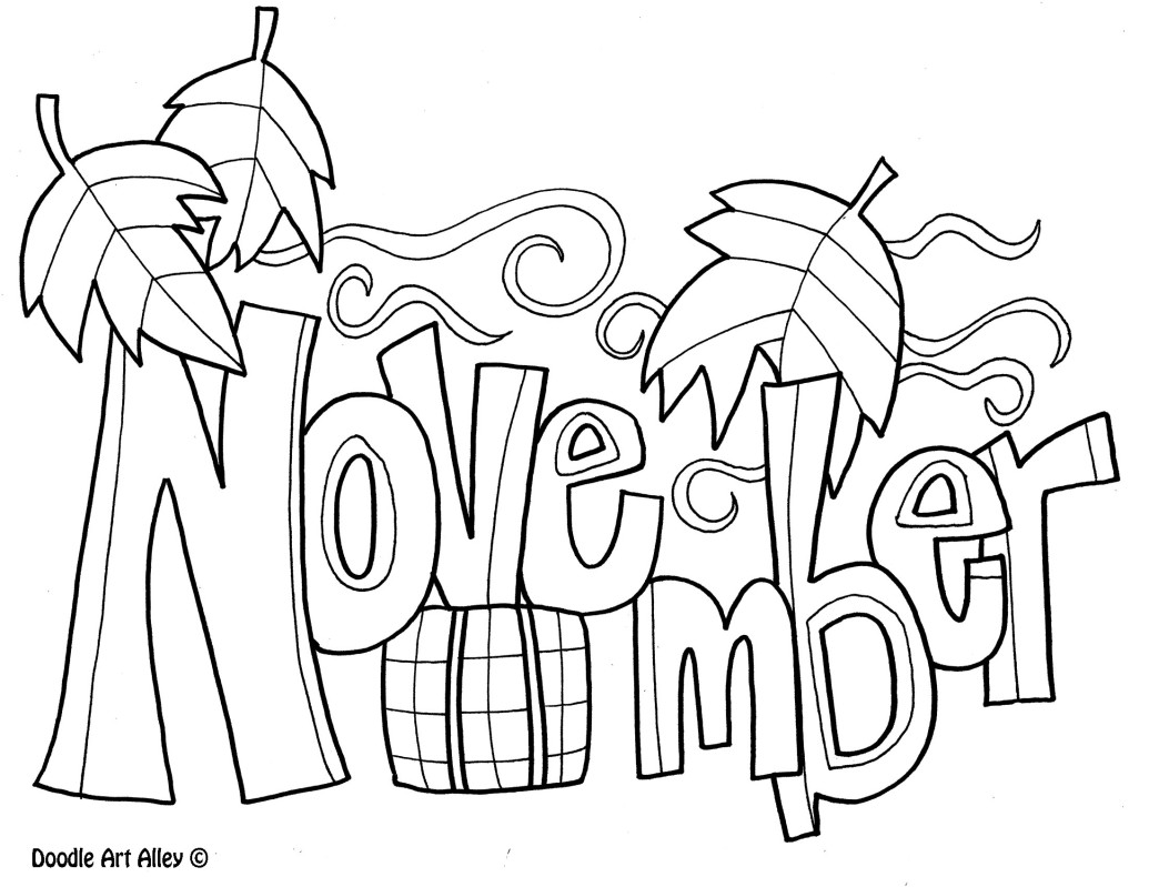 1035x799 November Coloring Pages For Kids Coloring November
