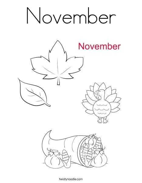 468x605 November Coloring Page Coloring Page November Coloring Pages