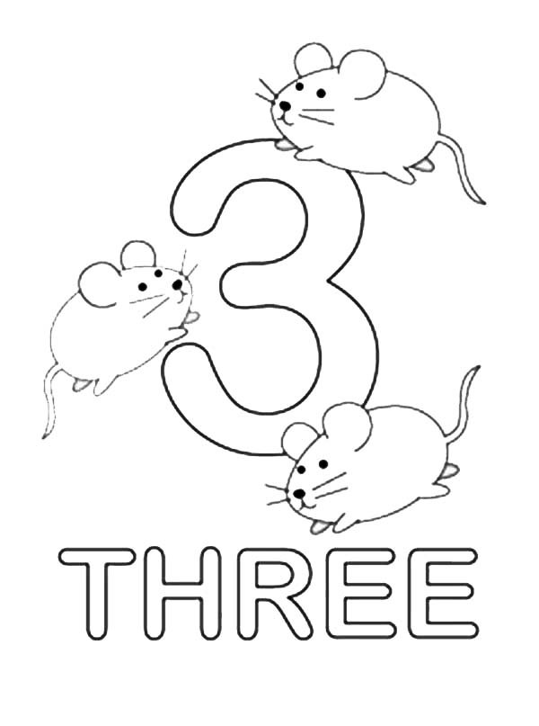 Number 1 Coloring Pages Preschoolers At GetDrawings Free Download