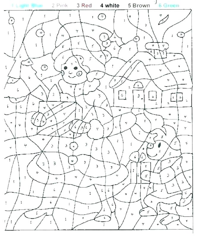 666x800 Number Coloring Page Number Coloring Page Coloring Number Sheets