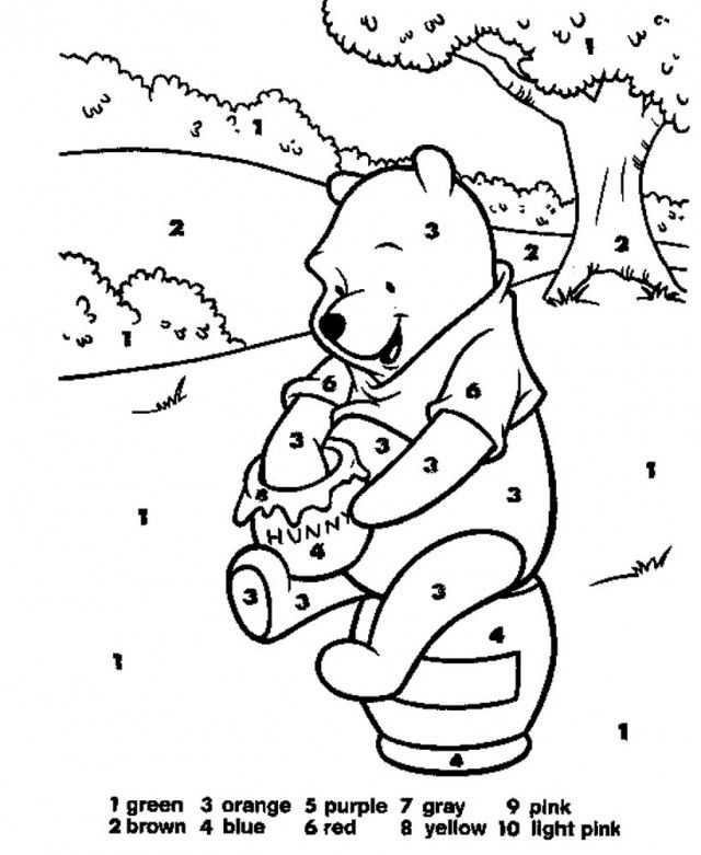 Number 13 Coloring Page