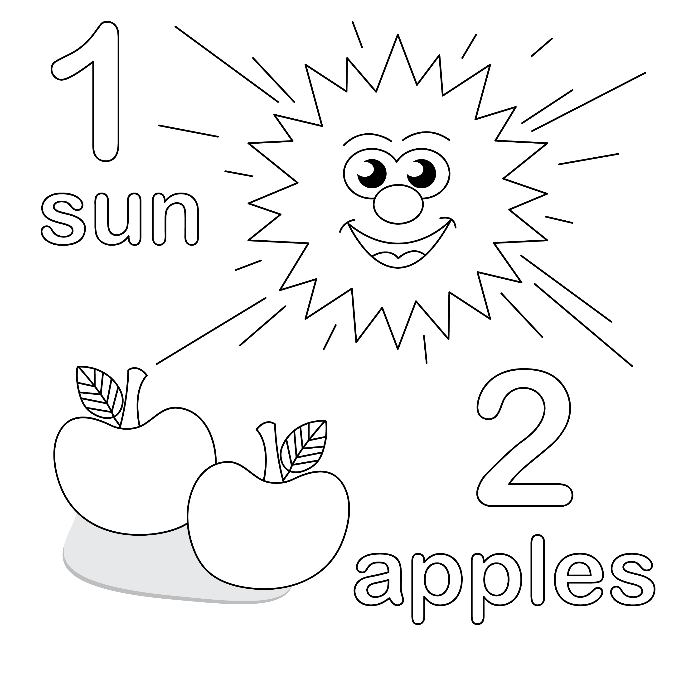 2835x2835 Number Coloring Page Trend Coloring Pages Preschool