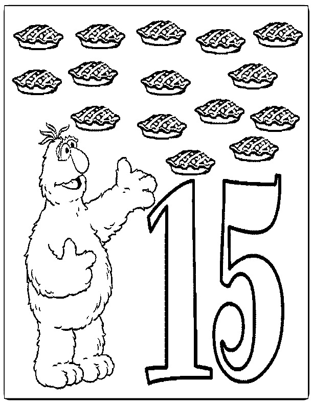 612x792 Number Coloring Page Az Coloring Pages Coloring Page