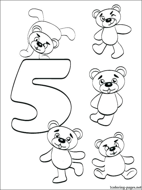 560x750 Number Coloring Page Coloring Pages