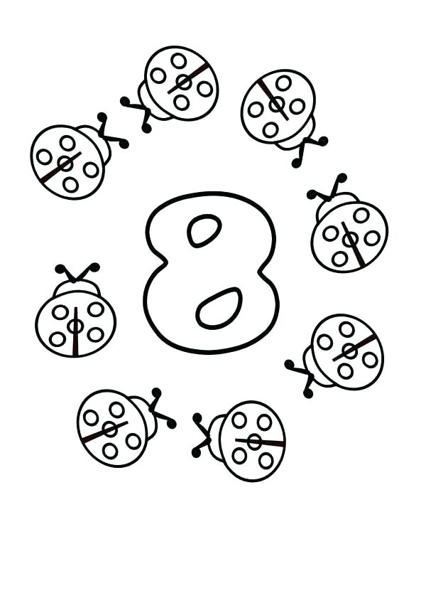 600x848 Number Coloring Page Number Coloring Page Number Coloring