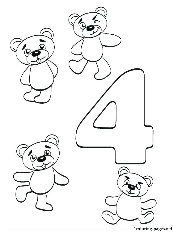 560x750 Number Coloring Page Number Coloring Page Numbers Coloring