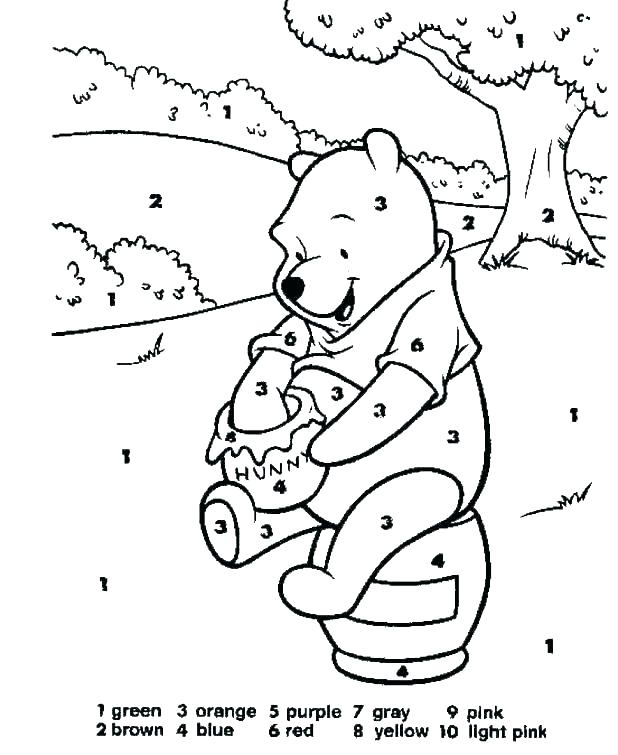 618x755 Number Coloring Pages Number Coloring Pages Number Coloring