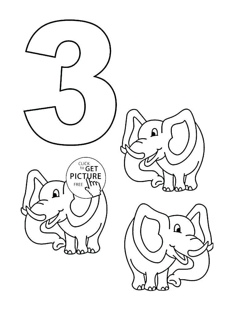Number Coloring Pages 1 10 at GetDrawings.com | Free for personal ...