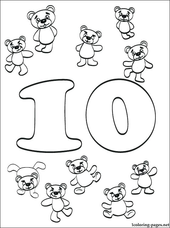 560x750 Number Coloring Page Number Coloring Page Coloring Pages